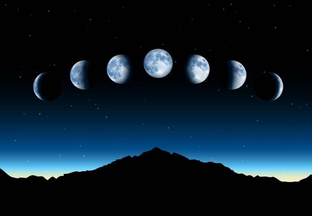 Лунный календарь: фазы Луны в декабре 2020