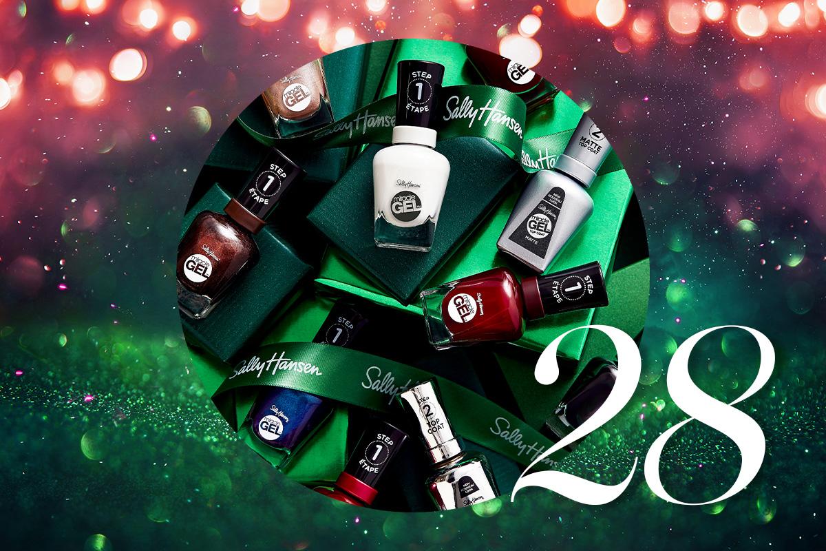 Адвент-календарь Beauty HUB 2020: лаки для ногтей от Sally Hansen