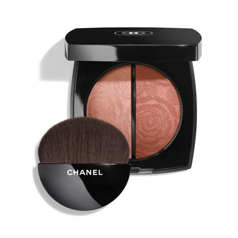 Chanel, Fleur De Printemps Blush And Highlighter Duo