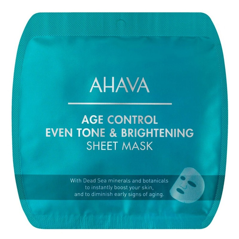 Ahava, Age Control Even Skin Tone Brightening Sheet Mask