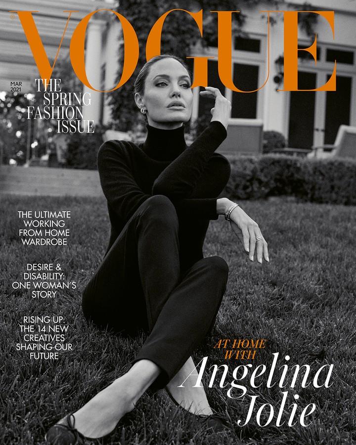 Анджелина Джоли интервью