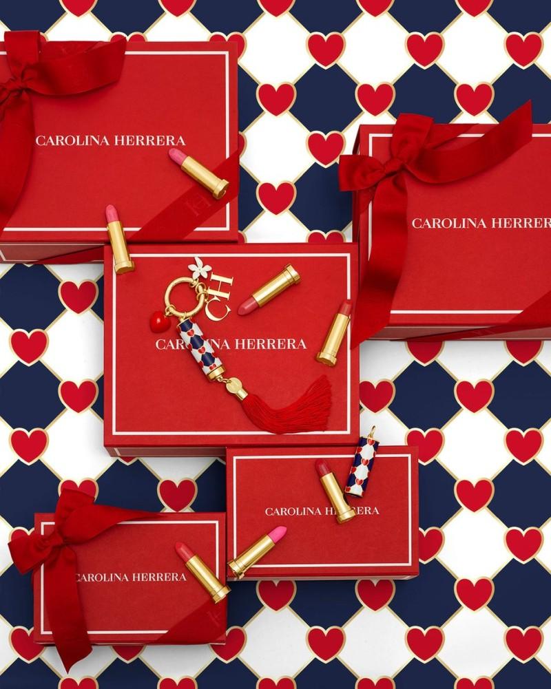 Carolina Herrera Fabulous Kiss Makeup Collection Valentine's Day 2021