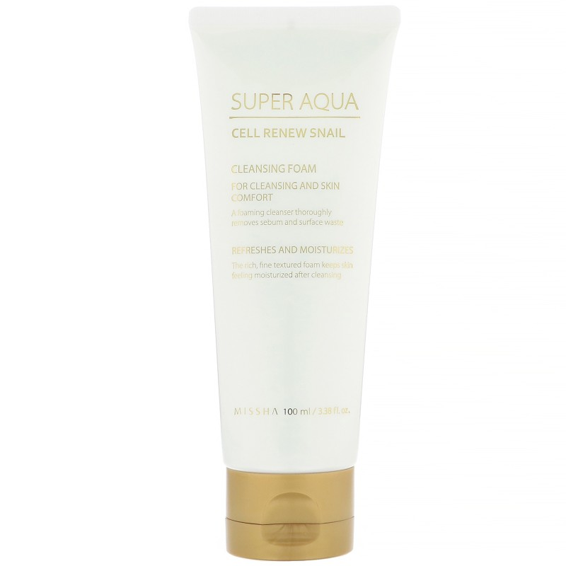 Super Aqua Cell Renew Snail, Missha