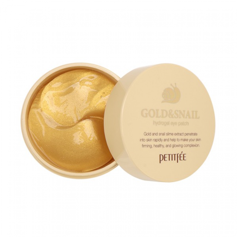 Gold & Snail Hydrogel Eye Patch, Petitfee