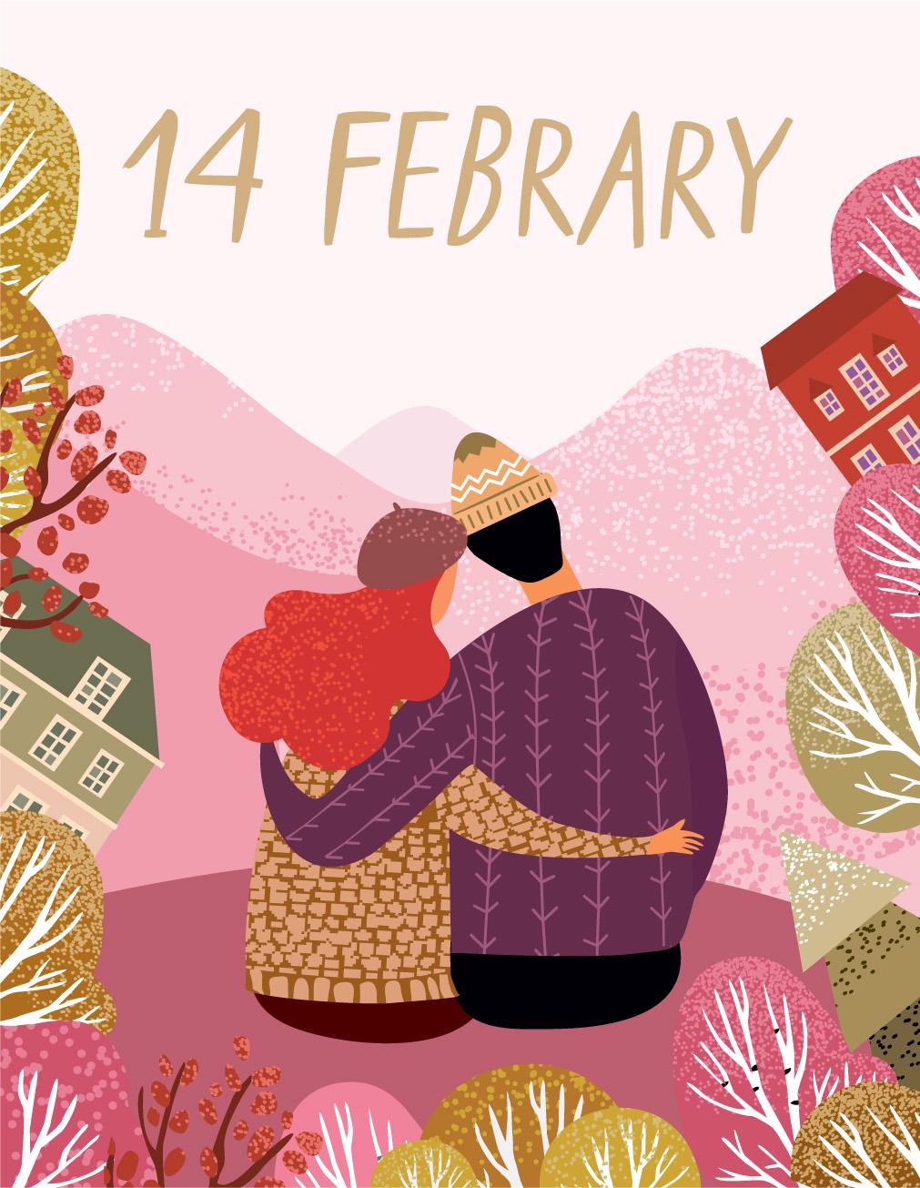 Поздравление с 14 февраля: оригинальные сообщения