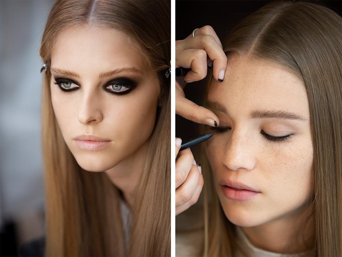 макіяж з показу Chanel Ready-to-Wear осінь-зима 2021/22