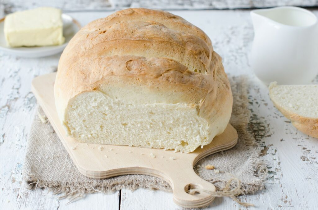 Рецепт білого пухкого кетохліба