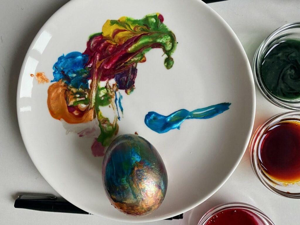 Интересные идеи для пасхальных яиц. Эксперимент редакции
