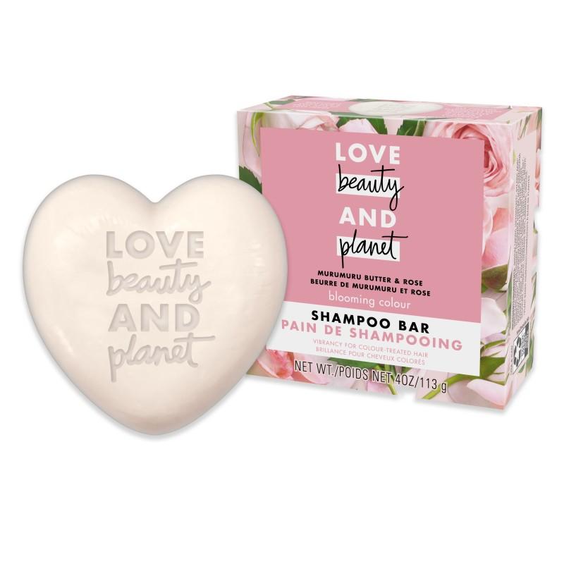 Love Beauty And Planet, Murumuru Butter & Rose Shampoo Bar
