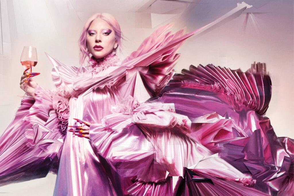 Леді Гага стала обличчям елітного шампанського Dom Pérignon