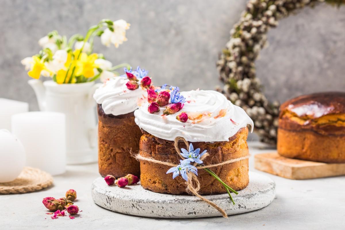 Рецепты веганского кулича: с апельсиновой цедрой и шоколадный