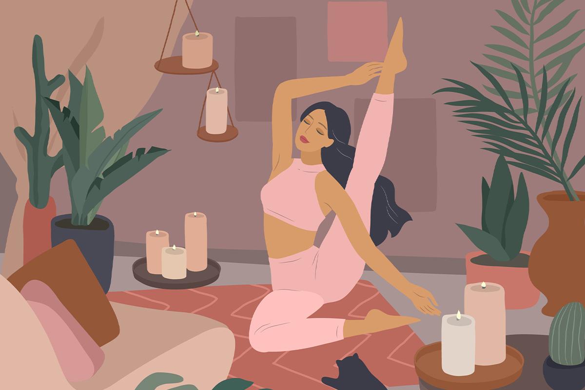 Йога для красивої та сяйливої шкіри