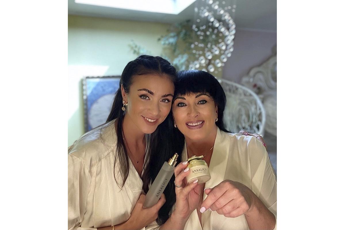 Мария Шемотюк с мамой