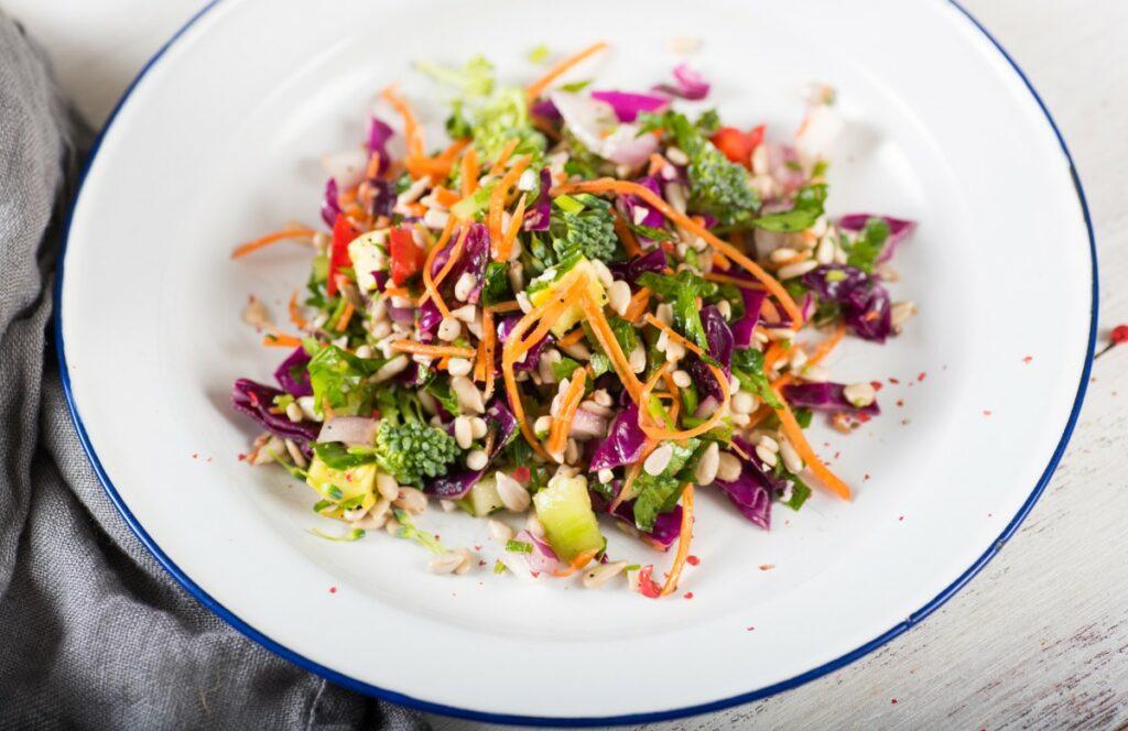 Салат з броколі по-корейськи – рецепт з фото