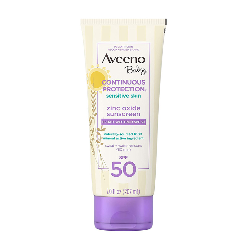 Aveeno, Baby Continuous Protection Zinc Oxide Broad Spectrum SPF 50