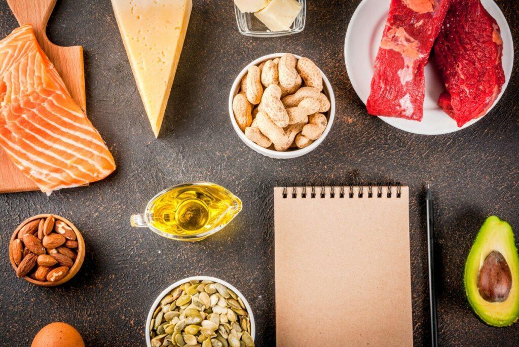 Кето-меню на 1200 ккал: как выбрать продукты