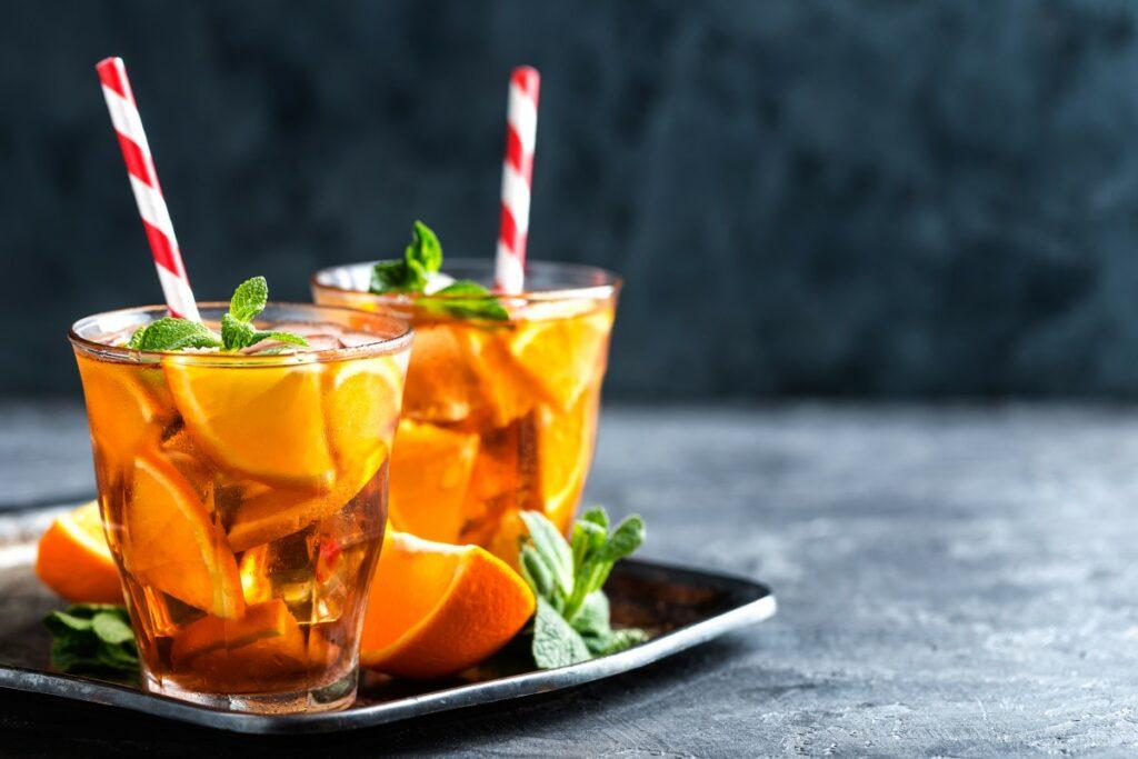 Черный чай с цитрусовыми
