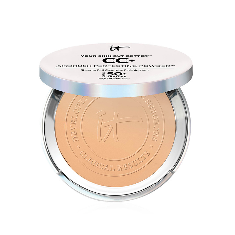 IT Cosmetics, Your Skin But Better CC+ Airbrush Perfecting Powder SPF 50+