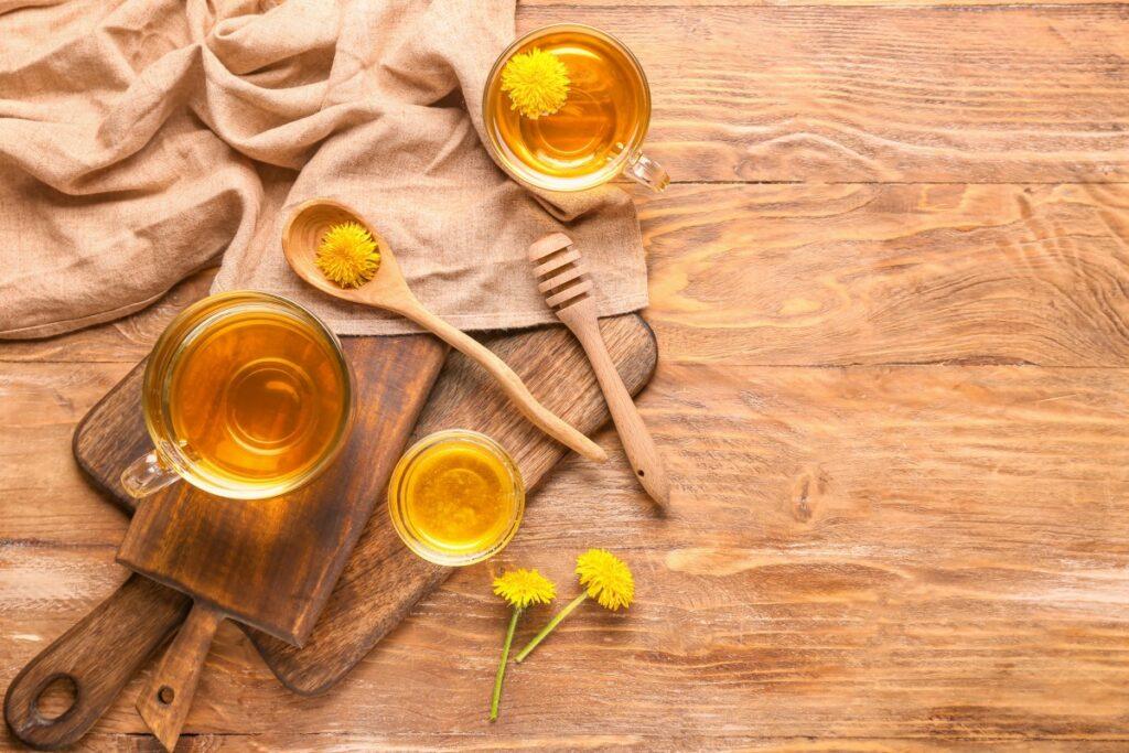 Как приготовить чай из одуванчиков — сезонные рецепты