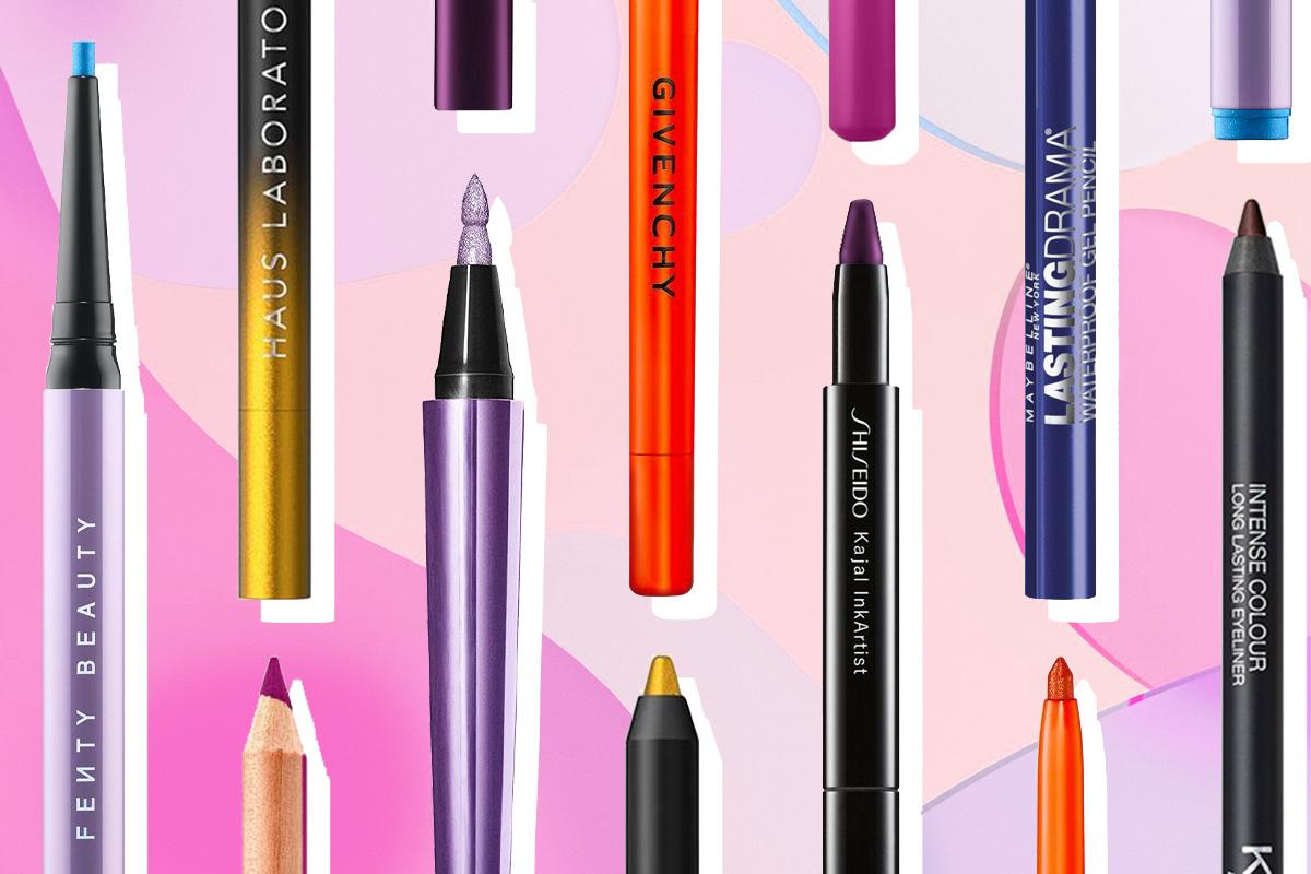 Для яскравих і креативних: кращі кольорові олівці для очей