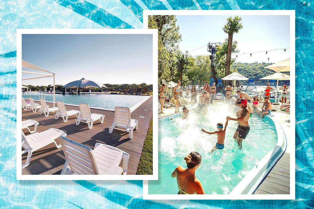 Де провести вихідні: топ-6 пляжних комплексів Києва