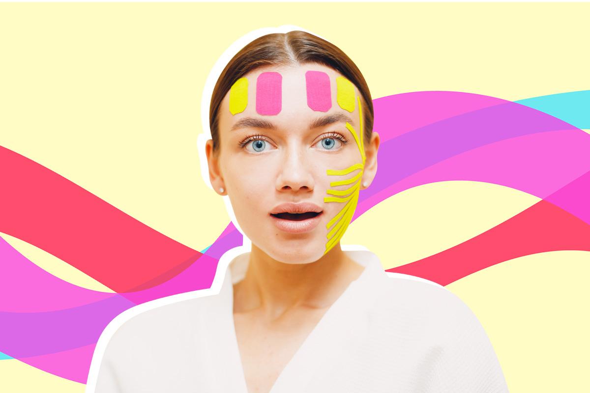 Що таке тейпування обличчя і як це працює