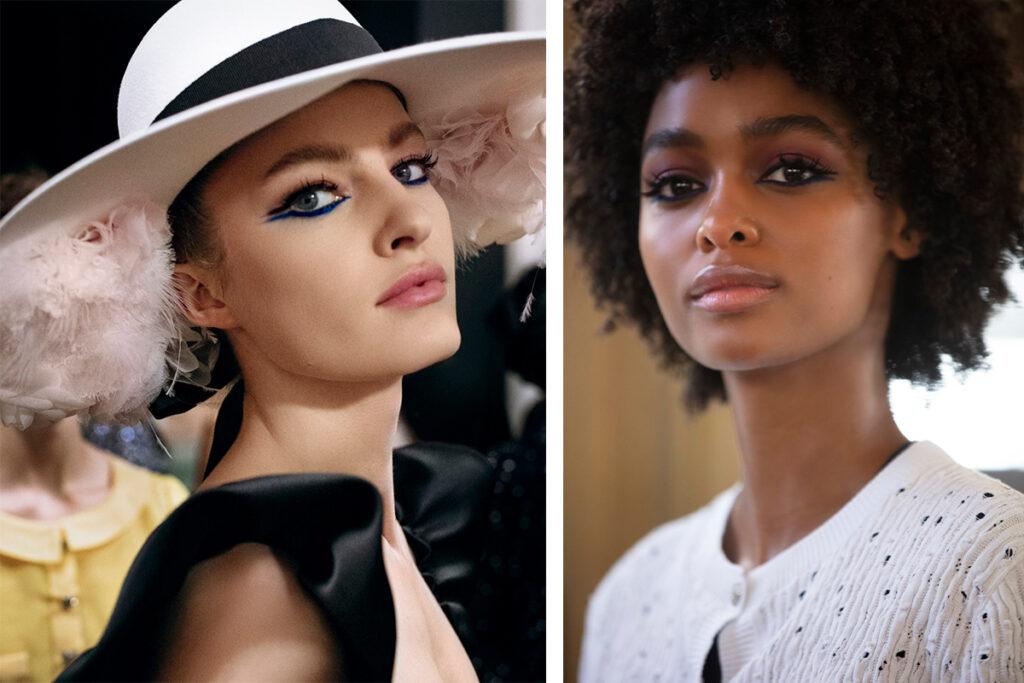 Как повторить макияж с показа Chanel Haute Couture осень-зима 2021/22