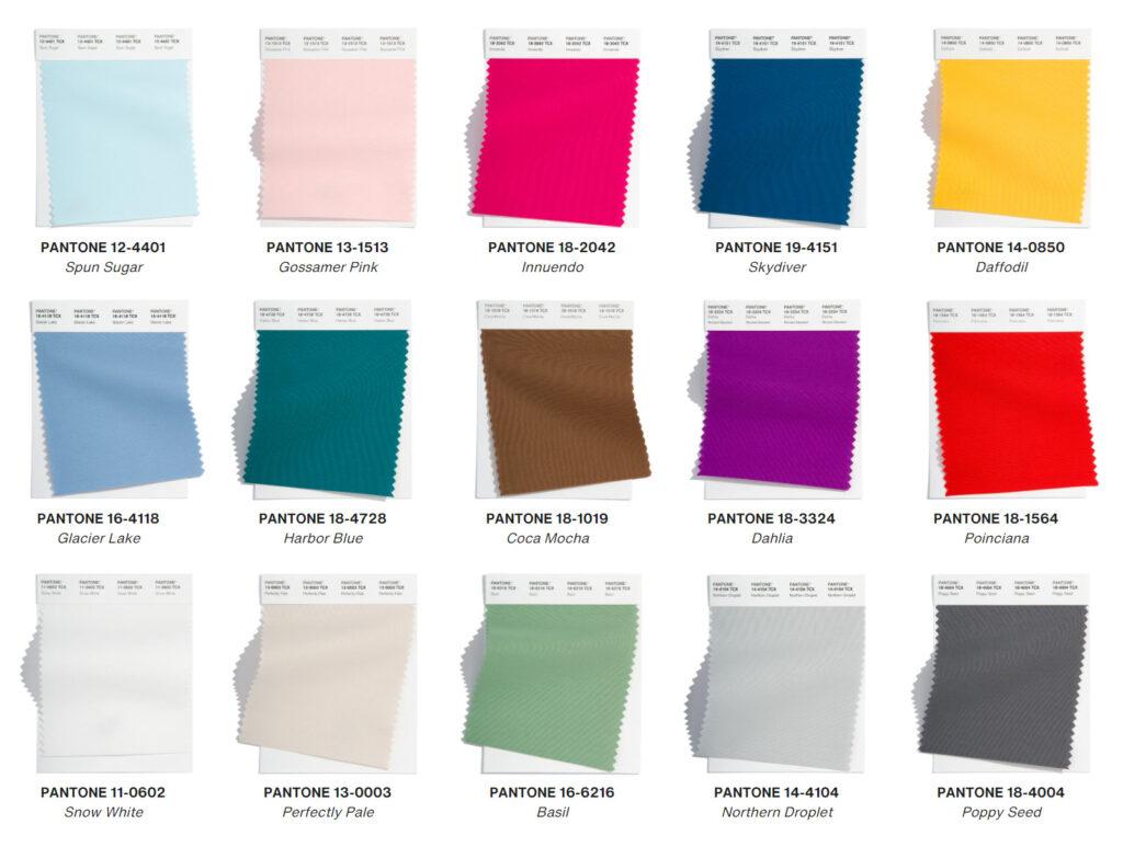 Pantone назвал главные цвета весны 2022 года