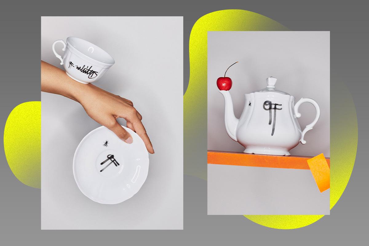 Коллаборация осени: коллекция посуды от Off-White и Ginori 1735